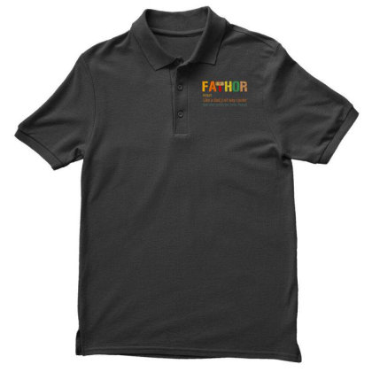 Fathor Like A Dad, Just Way Cooler Men's Polo Shirt Designed By Kakashop
