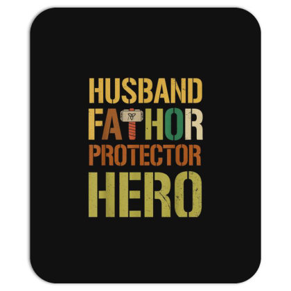 Husband Fathor Protector Hero Mousepad Designed By Kakashop