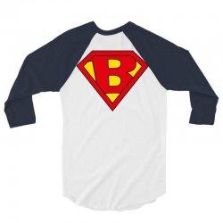 b 3/4 Sleeve Shirt | Artistshot