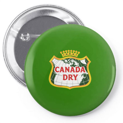 Canada Dry Pin-back Button Designed By Studio Poco    Los Angeles