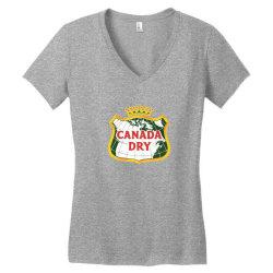 canada dry Women's V-Neck T-Shirt   Artistshot
