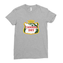 canada dry Ladies Fitted T-Shirt   Artistshot