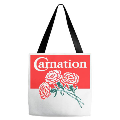 Carnation Tote Bags Designed By Studio Poco    Los Angeles