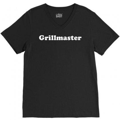 Grillmaster V-neck Tee Designed By Kosimasgor