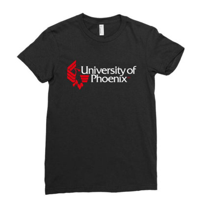 University Of Phoenix Ladies Fitted T-shirt Designed By Cahyorin