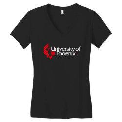 university of phoenix Women's V-Neck T-Shirt | Artistshot