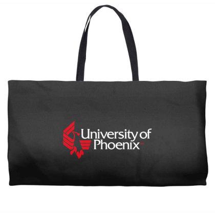 University Of Phoenix Weekender Totes Designed By Cahyorin
