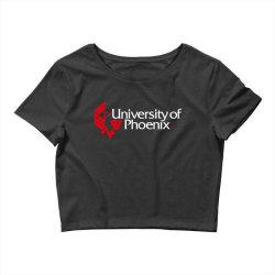 university of phoenix Crop Top | Artistshot