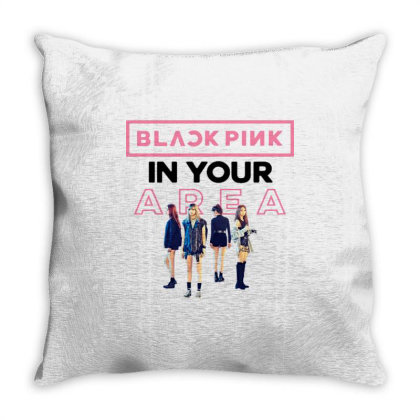 In Your Area Throw Pillow Designed By Cahyorin