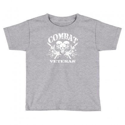 Combat Veteran Toddler T-shirt Designed By Gematees