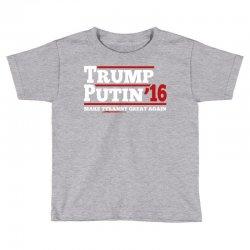 Trump Putin 2016 Toddler T-shirt | Artistshot