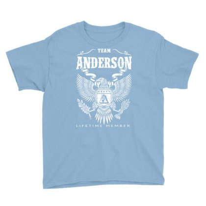 Team Anderson Lifetime Member Youth Tee Designed By Davidph