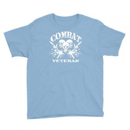 Combat Veteran Youth Tee Designed By Gematees
