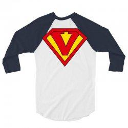 v 3/4 Sleeve Shirt   Artistshot