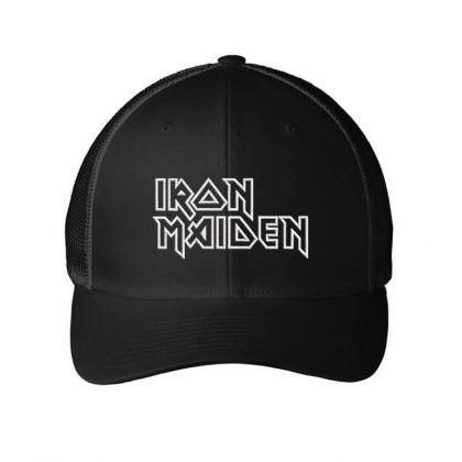 Iron Maiden Embroidered Hat Embroidered Mesh Cap Designed By Madhatter