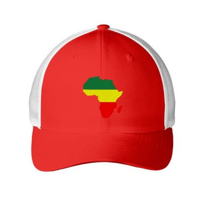 Africa Map Embroidery Embroidered Hat Embroidered Mesh Cap Designed By Madhatter