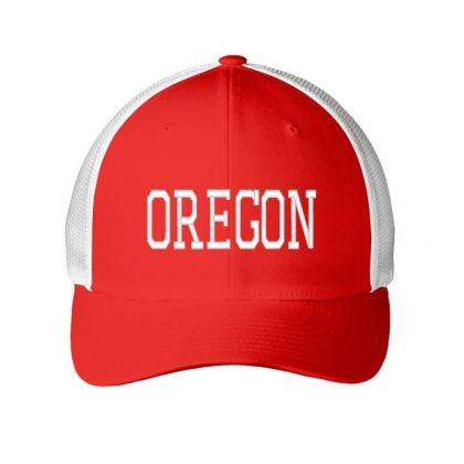 Oregon  Embroidery Embroidered Hat Embroidered Mesh Cap Designed By Madhatter