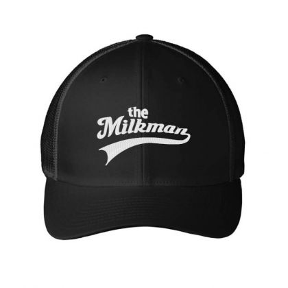 The Milk Man Embroidery Embroidered Hat Embroidered Mesh Cap Designed By Madhatter