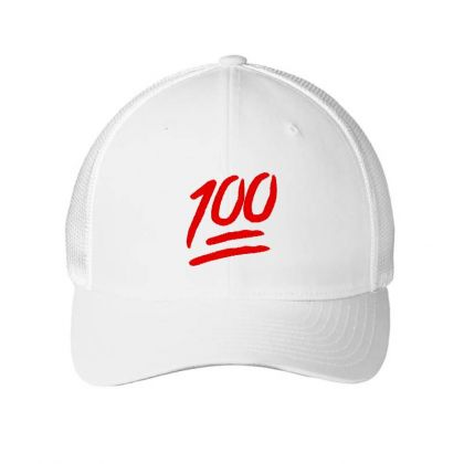 100 Emoji Embroidery Embroidered Hat Embroidered Mesh Cap Designed By Madhatter