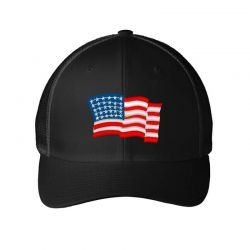 American Flag Usa Embroidery Embroidered Hat Embroidered Mesh cap | Artistshot