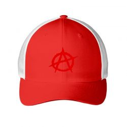 Anarchy Embroidery Embroidered Hat Embroidered Mesh cap | Artistshot