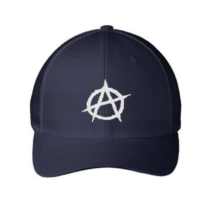 Anarchy Embroidery Embroidered Hat Embroidered Mesh Cap Designed By Madhatter