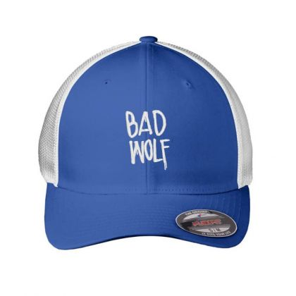 Bad Wolf Embroidered Hat Embroidered Mesh Cap Designed By Madhatter