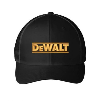 Dewalt Embroidery Embroidered Hat Embroidered Mesh Cap Designed By Madhatter