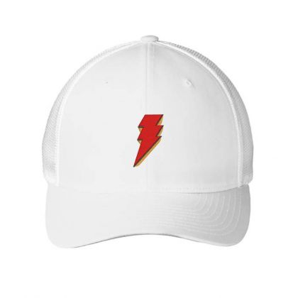 Shazam Embroidery Embroidered Hat Embroidered Mesh Cap Designed By Madhatter