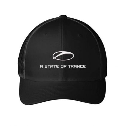 Armin A State Of Trance Embroidered Hat Embroidered Mesh Cap Designed By Madhatter