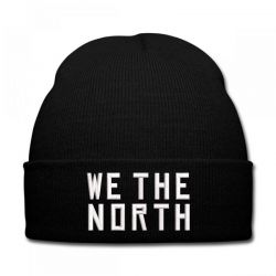 We The North embroidered hat Knit Cap | Artistshot