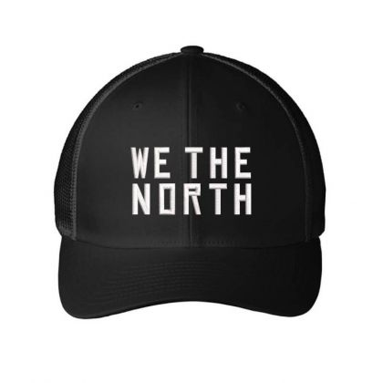 We The North Embroidered Hat Embroidered Mesh Cap Designed By Madhatter