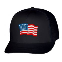 American Flag Usa Embroidery Embroidered Hat Trucker Cap | Artistshot