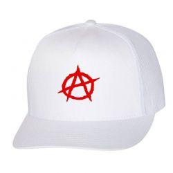 Anarchy Embroidery Embroidered Hat Trucker Cap | Artistshot