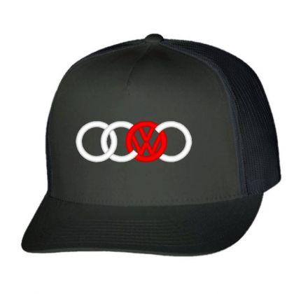 Audi Volkswagen Dope Trucker Cap Designed By Madhatter
