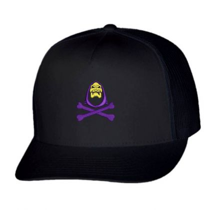 Of The Universe Retro Skeleton Embroidered Hat Trucker Cap Designed By Madhatter