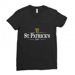 St Patrick's Day Ladies Fitted T-shirt Designed By Homienice