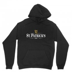 St Patrick's Day Unisex Hoodie Designed By Homienice