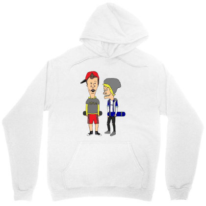Skater Beavis And Butthead Unisex Hoodie Designed By Cahyorin