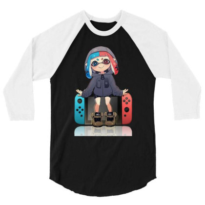 Game Switch 3/4 Sleeve Shirt Designed By Cahyorin