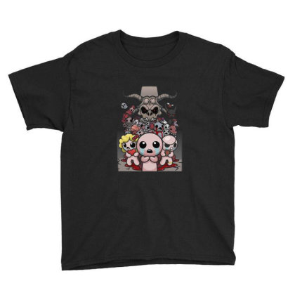 The Binding Of Isaac Youth Tee Designed By Cahyorin