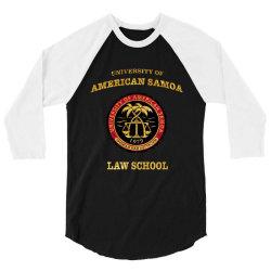 university of american samoa 3/4 Sleeve Shirt | Artistshot