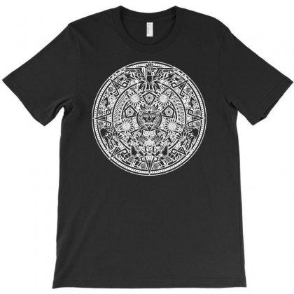 Azteken Aztec Mandala Inka Maya Inca Machu Picchu Gott Gods Funny T-shirt Designed By Mdk Art