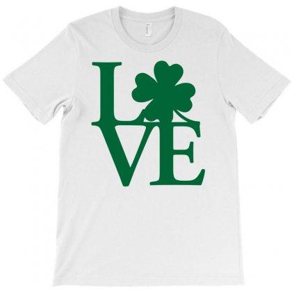 I Love Ireland T-shirt Designed By Mdk Art