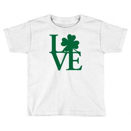 I Love Ireland Toddler T-shirt Designed By Mdk Art