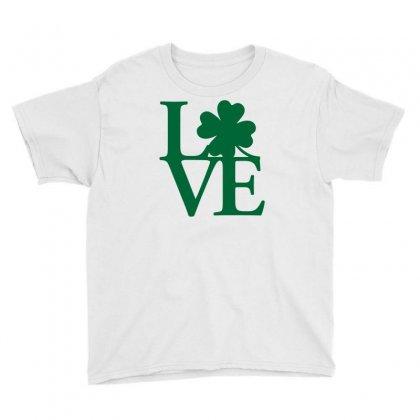 I Love Ireland Youth Tee Designed By Mdk Art