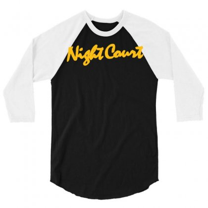 Night Court 3/4 Sleeve Shirt Designed By Syahbudi90