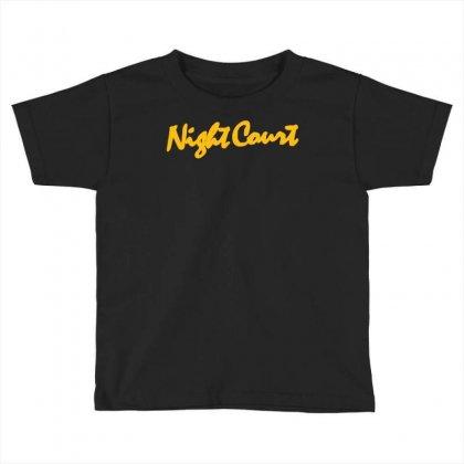 Night Court Toddler T-shirt Designed By Syahbudi90