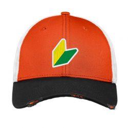 Jdm Logo Embroidered Hat Vintage Mesh Cap | Artistshot