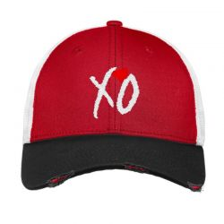 Xo Weekend Embroidery Embroidered Hat Vintage Mesh Cap | Artistshot